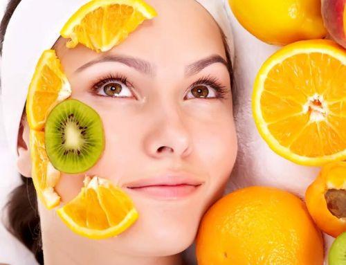 Καθαρισμός προσώπου με βιταμίνες