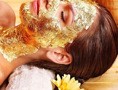 Θεραπεία με φύλλο χρυσού 24K