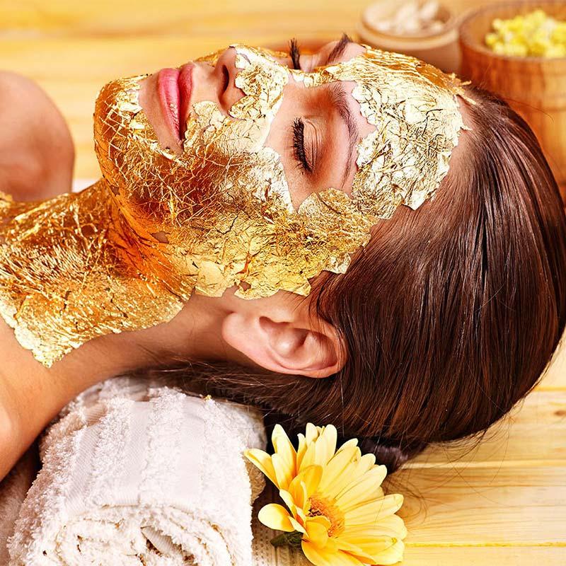 θεραπεία με χρυσό φύλλο